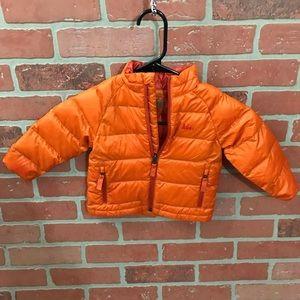 REI Orange Puffer Jacket 18m